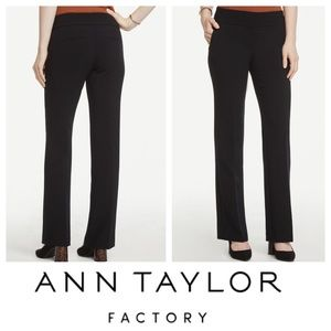 Ann Taylor Factory Signature Trouser Pants Sz 2